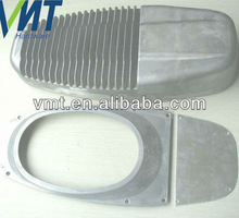 die cast aluminum lamp parts of outdoor led street light shell