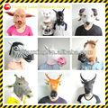 de goma de los animales de granja máscara de animales máscaralos máscaras africanas animal