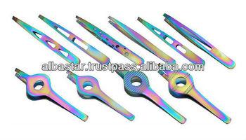 2013 new stylist slanted tweezers, professional eyebrow tweezers, high quality eyebrow tweezers