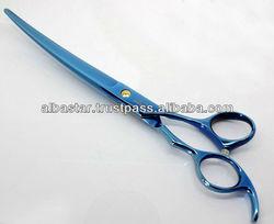 Premium Pet Dog Grooming Scissors, Curved Pet Grooming Scissors, Dog Grooming Scissors