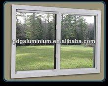 the most popular common style aluminium horizontal sliding window