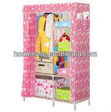 convenient home storage wardrobe solid wood Cloth Wardrobe