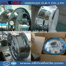 Alloy rims chrome bbs replica wheels for truck trailer