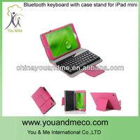 hot sale OEM wireless bluetooth keyboard soft case for ipad