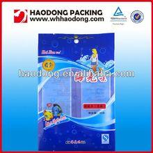Food grade plastic packaging pet snack packaging bags