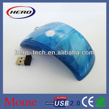 2013 new products wireless mouse foldable style