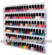 big size nail polish wall display rack