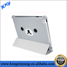 for ipad leather cover case , drop shipping acceptable