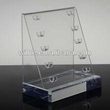 2013 custom manufacturing custom manufacturing made in China Acrylic Cosmetic Pencil Display
