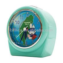 hotel alarm clock/desk clock,table clock,Patent uniform light projector alarm clock CK-503