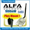 Original Alfa AWUS036H Wireless USB Adapter With High Gain 7dBi Detachable Antenna
