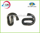 Elastic metal clamps spring loaded for railway