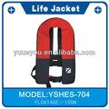 aprobado por la ce automático oem personalizada chaqueta de la vida y de rescate