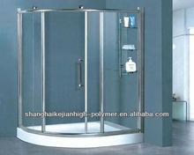 bonding for glass steam shower room