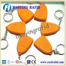 plastic rfid key tag pvc card tag for Club/SPA membership management, rewards and promotion