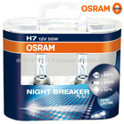 Osram 64210NBP H7 Night Breaker Plus Headlight Bulb 12 V 55 W (Twin Pack)