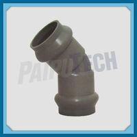 Plastic Pipe Fitting PVC Double Socket 45 Degree Bend