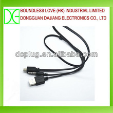For charging waterproof mini usb connector cable for data transmission