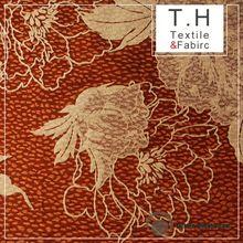 2013 brushed tricot fabric Folk Flower Style