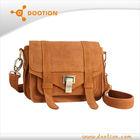 Genuine leather nubuck bag messenger bags for girls