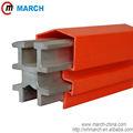 Alumínio 630amp-2500amp açoinoxidável condutor isolado trilho de março vigas de ferro usados