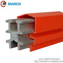 630Amp-2500Amp de alumínio de aço inoxidável condutor isolado rail março ferro vigas usado