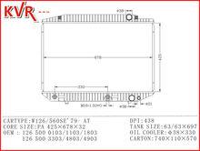 Radiator Repair Tools For W126 560SE 79 With OEM 1265000103 1103 1803