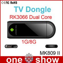 android tv dongle with externa MK809 II mini pc HDMI android 4.0 smart tv dongle