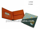 Promotional leather wallet for boy factory price