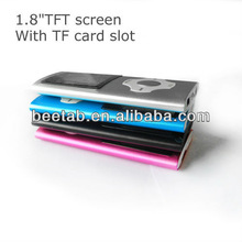 high definition mp4 with TF card slot