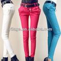 nueva moda para mujer pantalones formales trajes para el nuevo modelo de pantalones vaqueros pantalones l1039