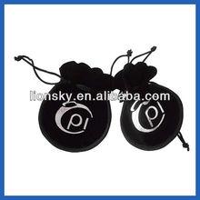 black velvet gift bags pouch for nick-nack