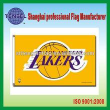 NBA LOS ANGELES LAKERS 3'X5'BANNER FLAG