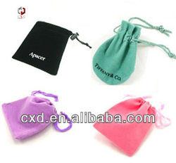 2013 China Small/Mini Velvet Drawstring Bags