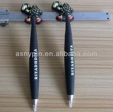 Dubai style pvc pen with printing logo