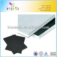 3mm-10mm paper material foam core board wholesale/2 sides with white paper foam core board wholesale