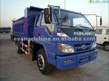 Foton de alta calidad pequeños camiones volquete 4*2