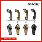 High Quality ecig snake drip tip/smoktech 510 Cobra Drip tips Series Drip Tips