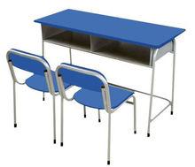 double seat metal classroom desk,metal school desk set