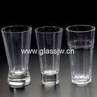 glassware for water/beer/juice