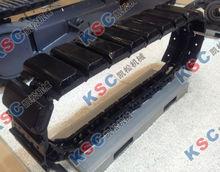 undercarriage excavator steel track pads