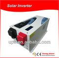 Inversor de onda solar sinusoidal pura con cargador de batería incorporado, 1-6 KW, reconocimiento CE