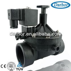 plastic water solenoid valve flow control