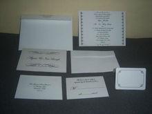 Custom Printed Wedding Cards, Wedding Invitations