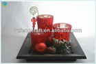 frosted glass candle holders,hexagonal glass,cage candle holder