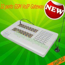 32 ports voip gsm gateway internet phone voip