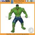 plástico personalizado hulk brinquedos