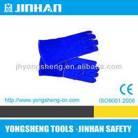 JINHUA JINHAN Brand 14 inch Electric Welding Gloves, gloves leather tig welding, wateproof welding gloves S-1002