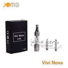 2.0ml~3.5ml vivi nova mini 1.8ohm/2.4ohm/2.8ohm electronic cigarete vivi nova rotatable