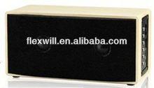 fm radio broadcast transmitter wooden bluetooth speaker